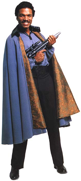 Lando Calrissian is all sex. (Found on the internet)