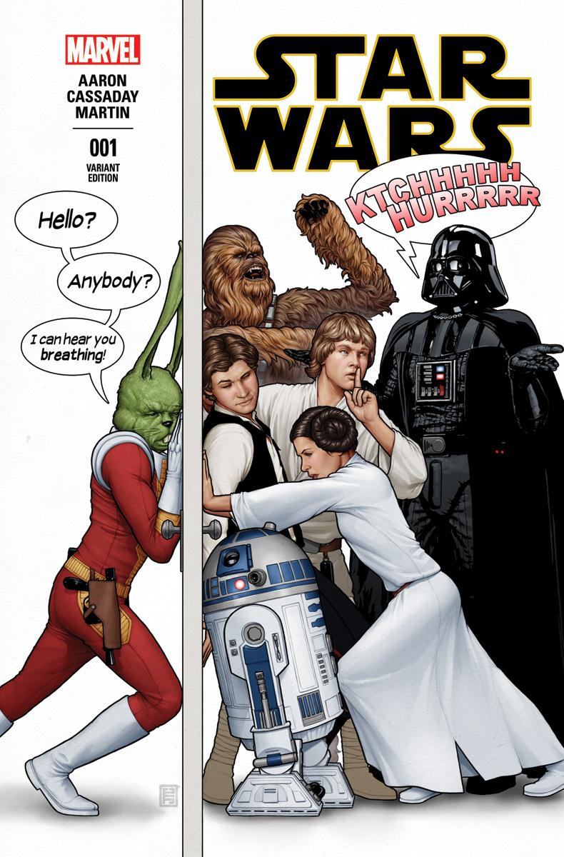 Star Wars #1 variant by John Tyler Christopher